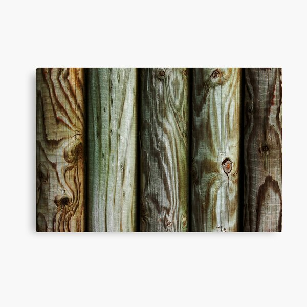 Wooden Canvas Print