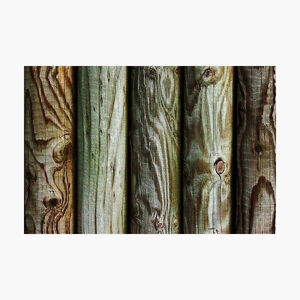 Wooden Photographic Print