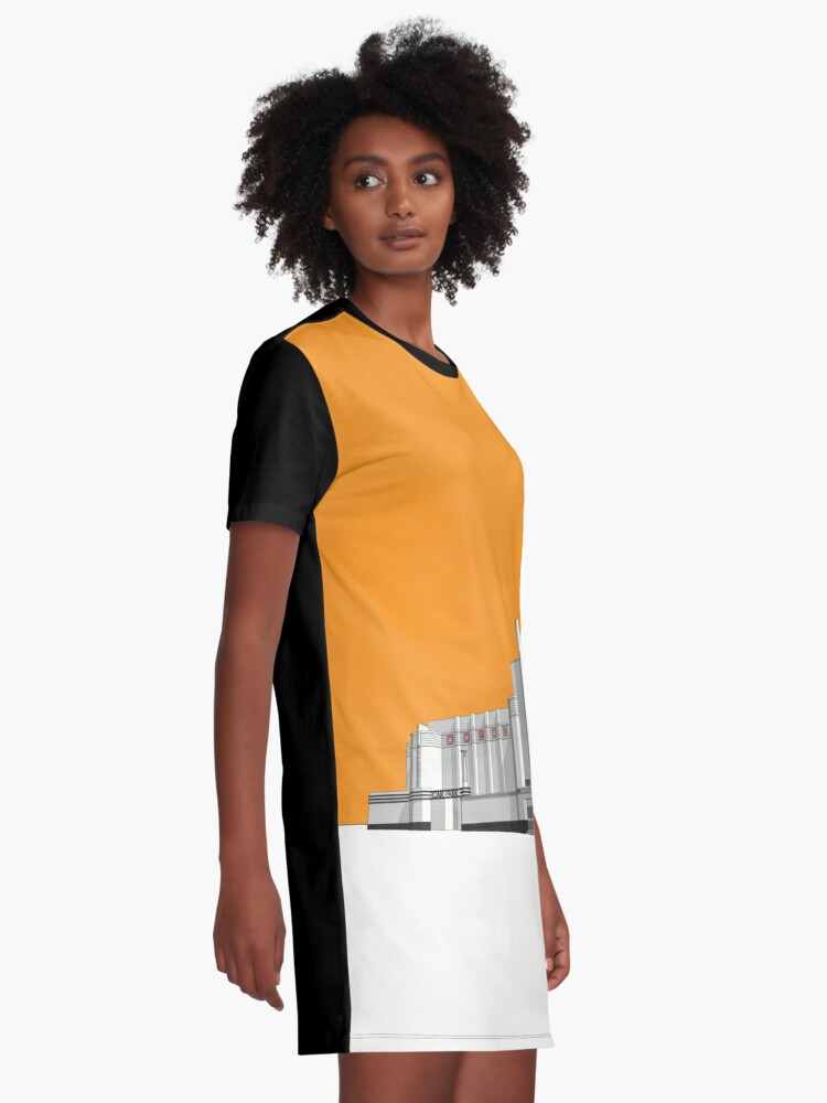 Alternate view of ODEON Woolwich Graphic T-Shirt Dress