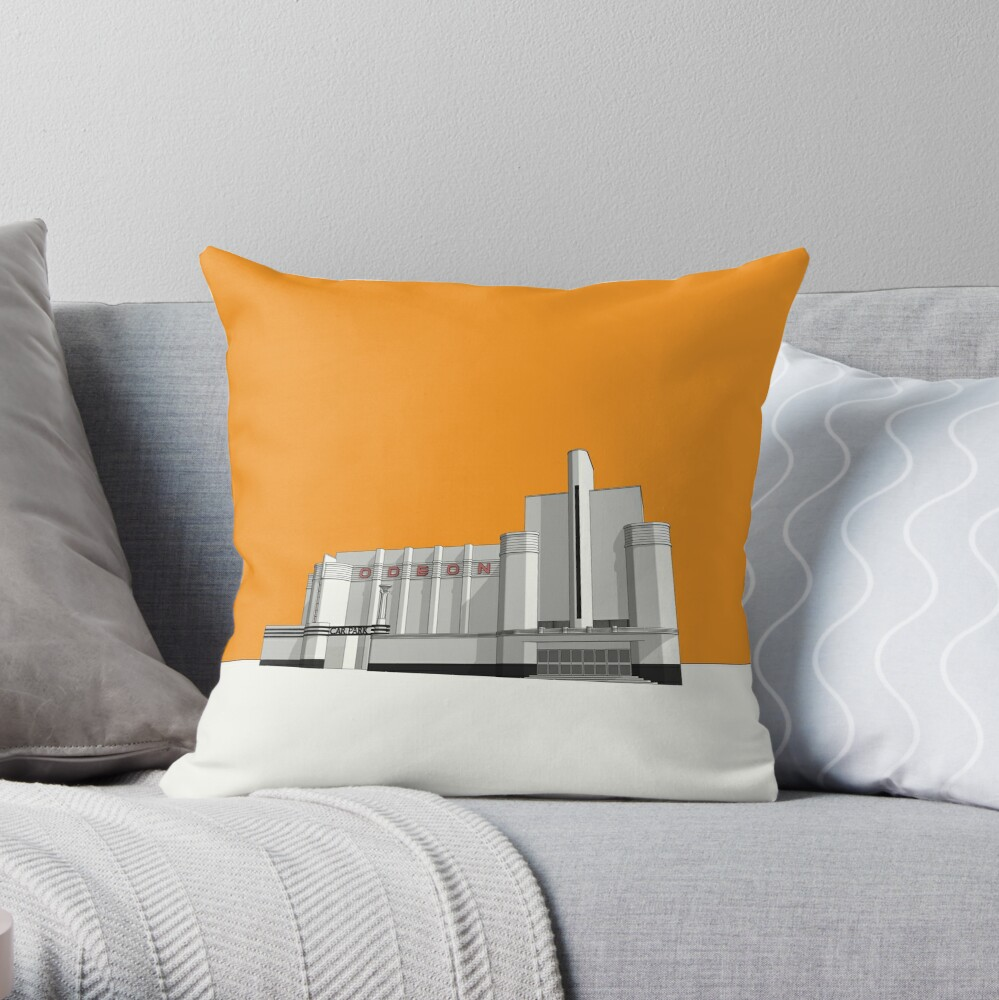 ODEON Woolwich Throw Pillow