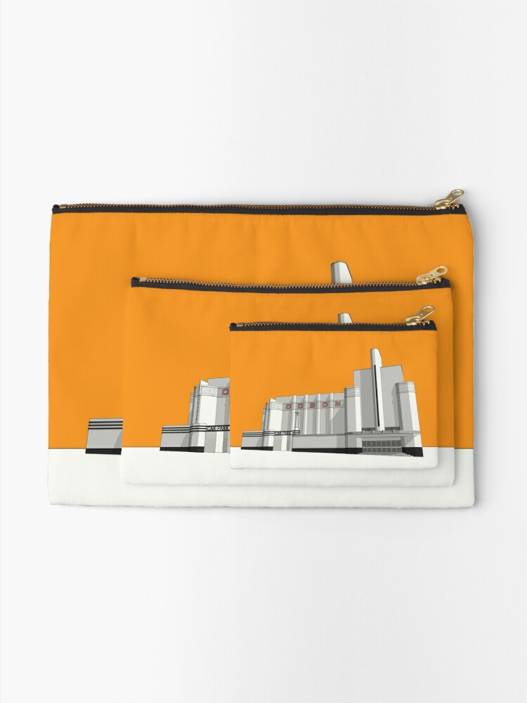 Alternate view of ODEON Woolwich Zipper Pouch