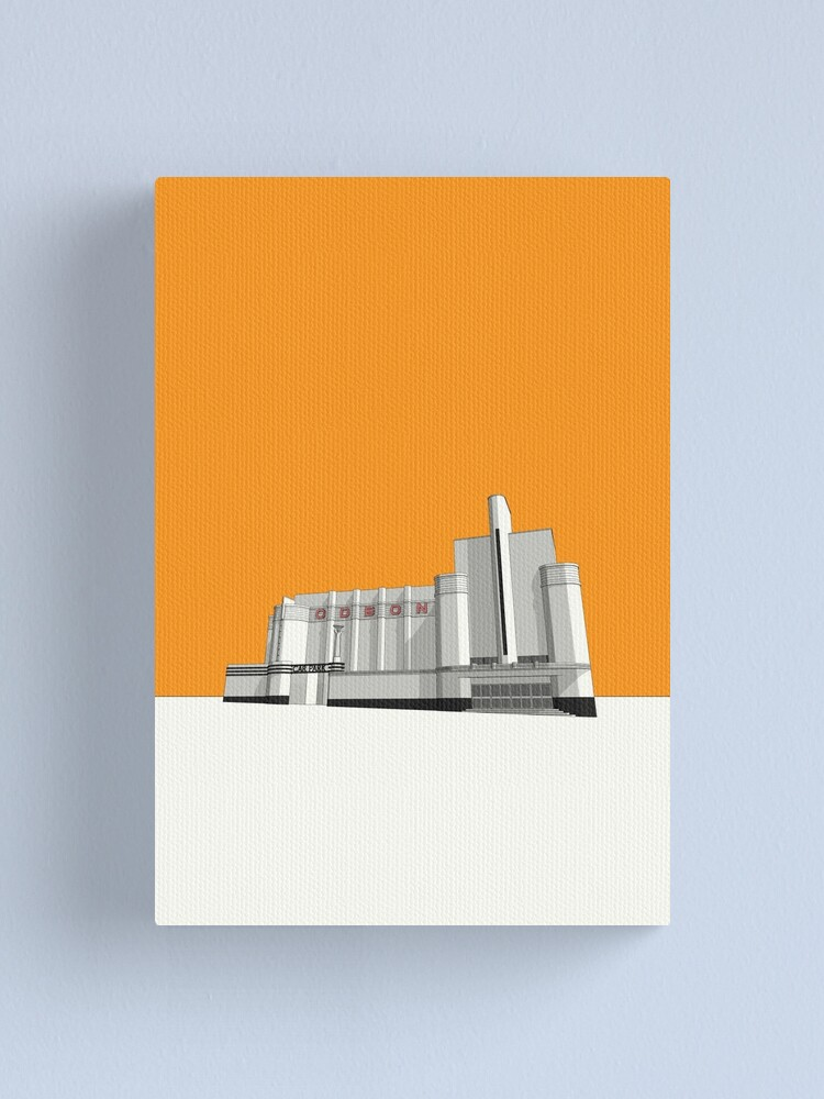 Alternate view of ODEON Woolwich Canvas Print