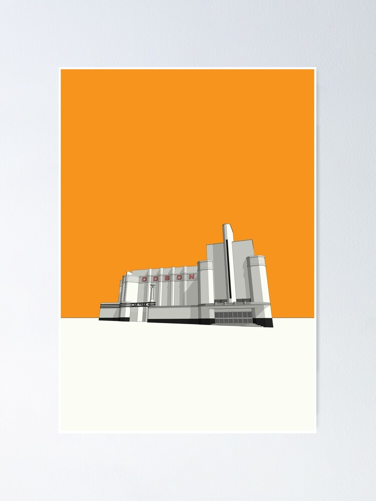 Alternate view of ODEON Woolwich Poster