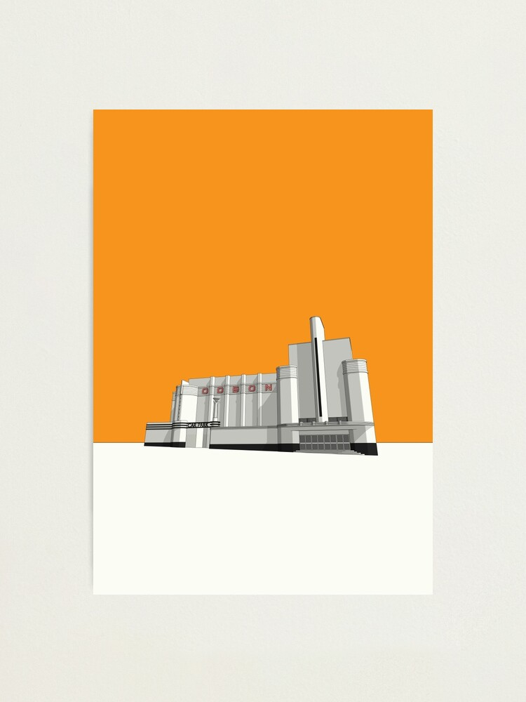 Alternate view of ODEON Woolwich Photographic Print