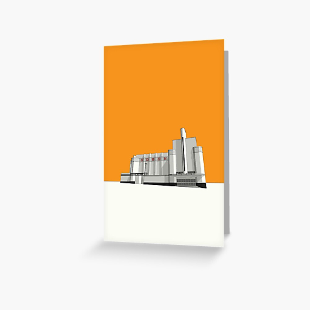 ODEON Woolwich Greeting Card
