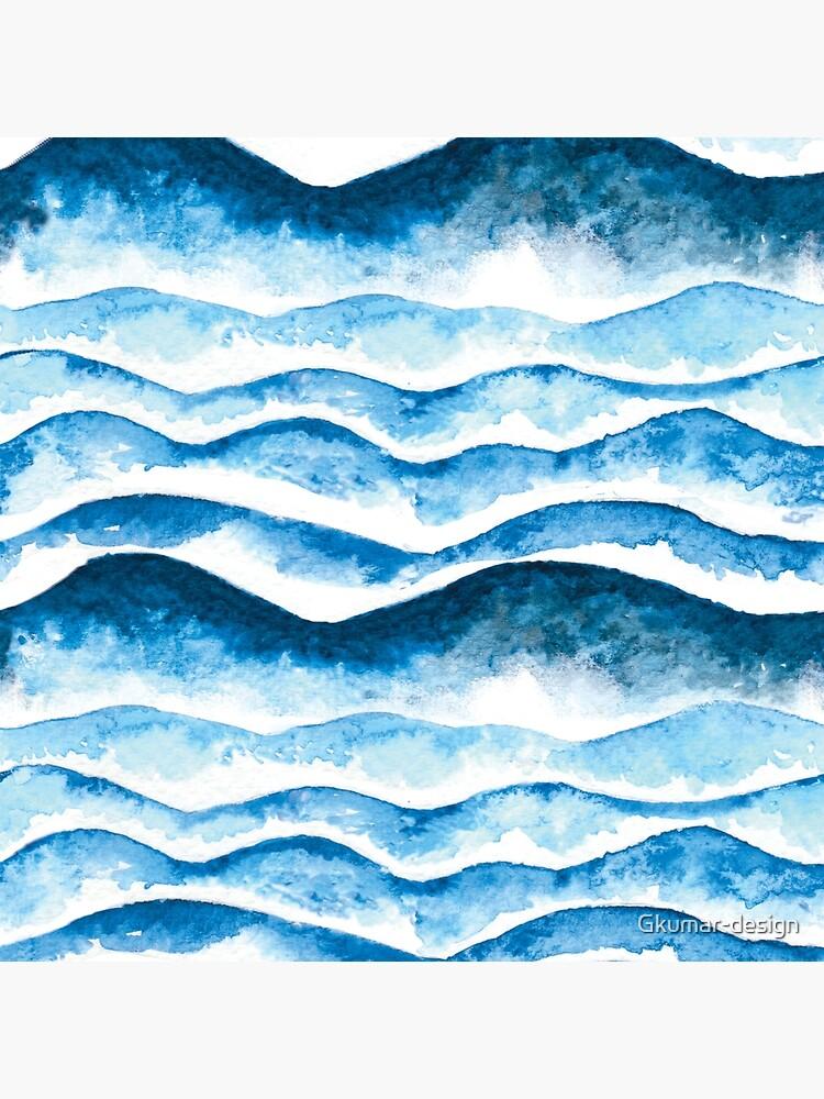 Beach waves by Gkumar-design