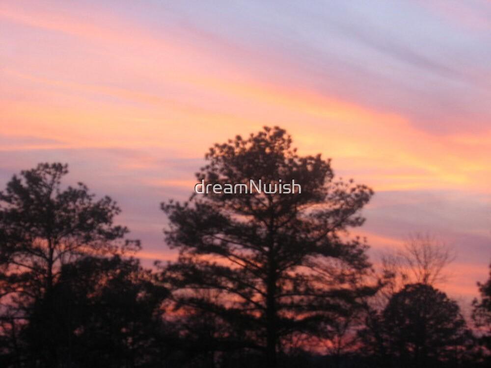 Peachy Sunset by dreamNwish