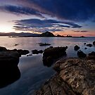 Taputeranga Island Dawn by Ken Wright