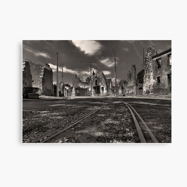 The train comes never again....... Canvas Print
