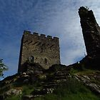 Dolwyddelan Castle; The Keep & West Tower by wiggyofipswich