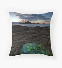Taputeranga Emeralds  Throw Pillow