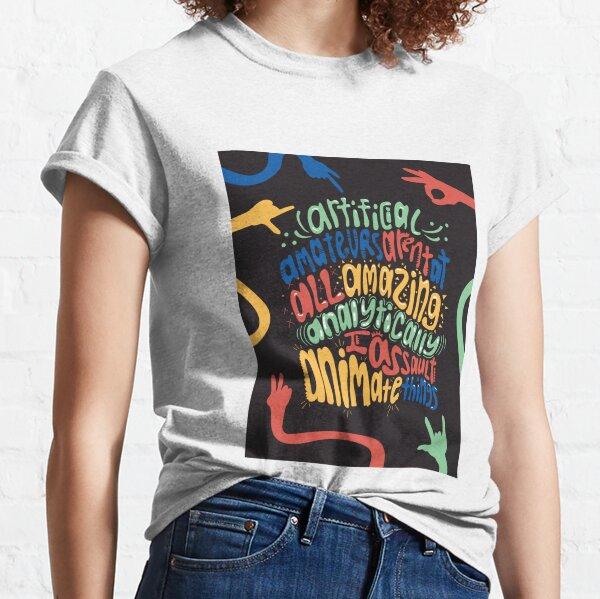 "Alphabet Aerobics, ""Letter A""  Classic T-Shirt"
