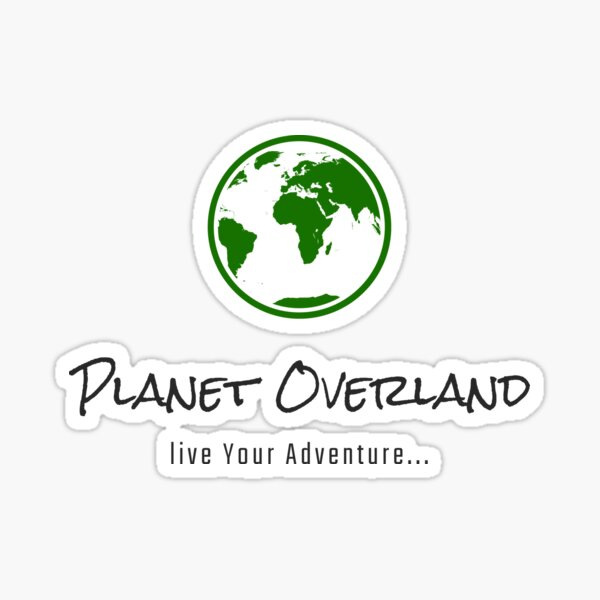 Live with Planet Overland Sticker
