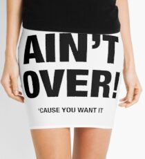 WAR AIN'T OVER ('CAUSE YOU WANT IT) Mini Skirt