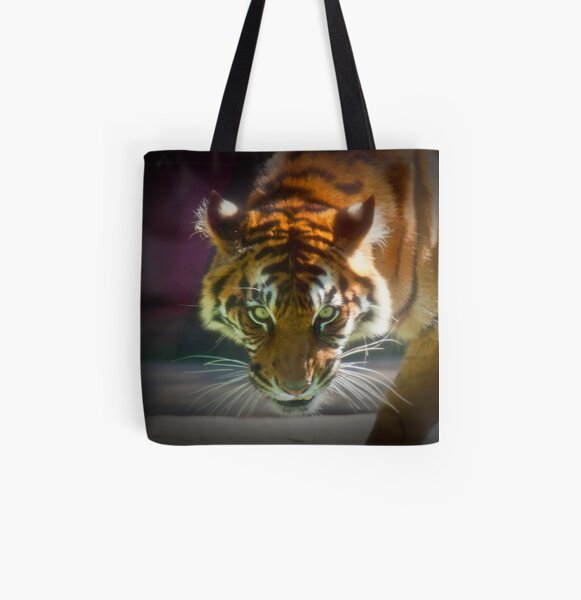 The Stare All Over Print Tote Bag