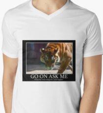 Tiger Terror V-Neck T-Shirt
