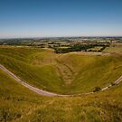 The Manger White Horse Hill by Jim Hellier