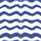 Shibori Waves #redbubble #shibori by designdn