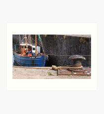 Harbour Side Art Print