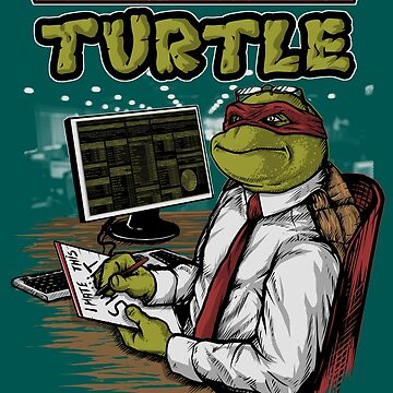 Adult Mutant COrporate Turtle by eZkun