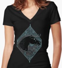 Equine Women's Fitted V-Neck T-Shirt