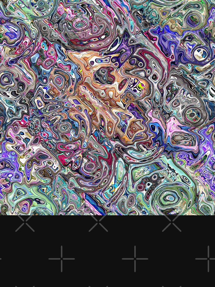 Abstract Melted Colors by perkinsdesigns