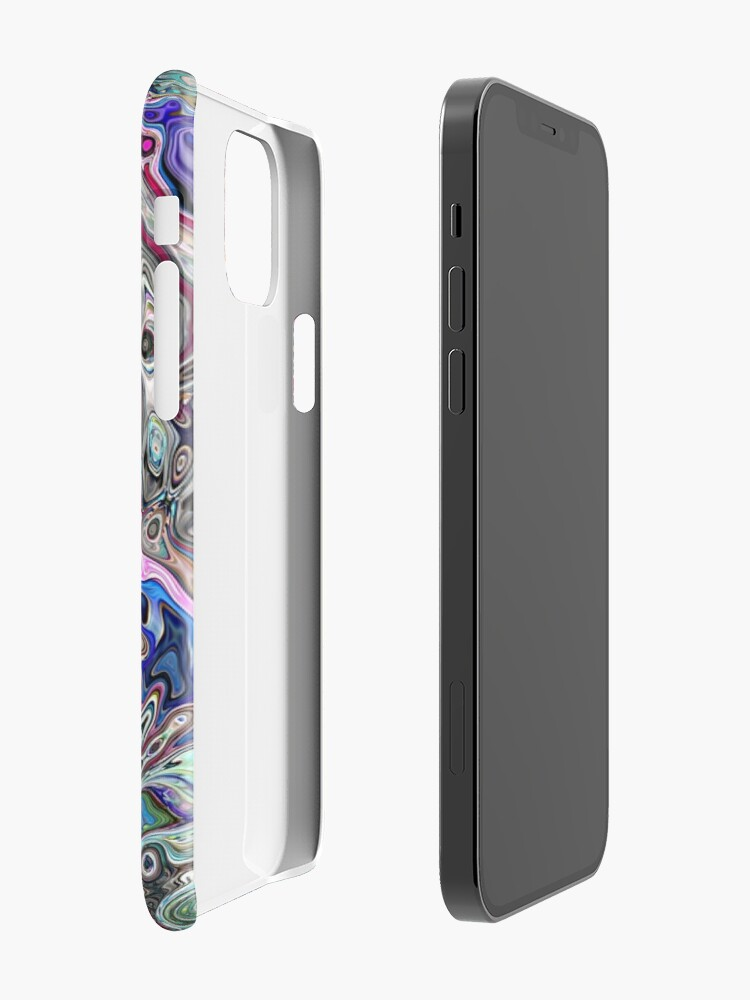Alternate view of Abstract Melted Colors iPhone Case & Cover