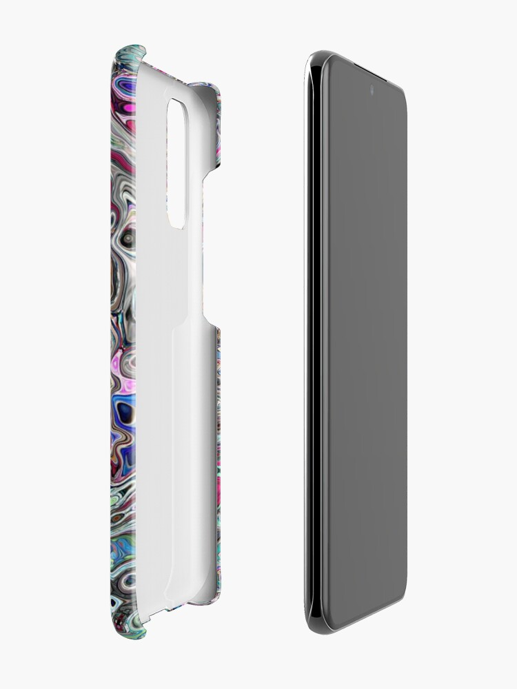 Alternate view of Abstract Melted Colors Case & Skin for Samsung Galaxy
