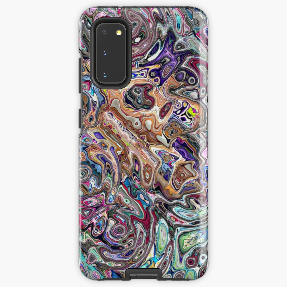 Abstract Melted Colors Case & Skin for Samsung Galaxy