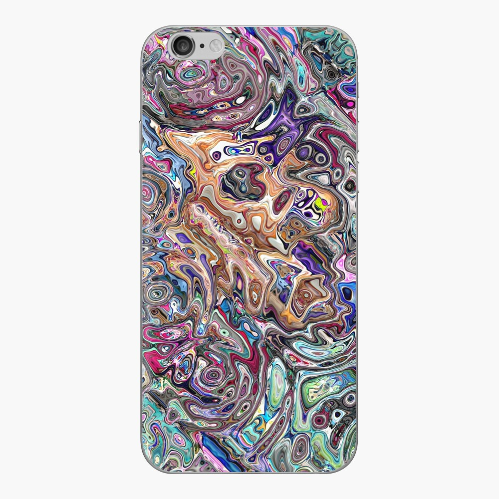 Abstract Melted Colors iPhone Skin