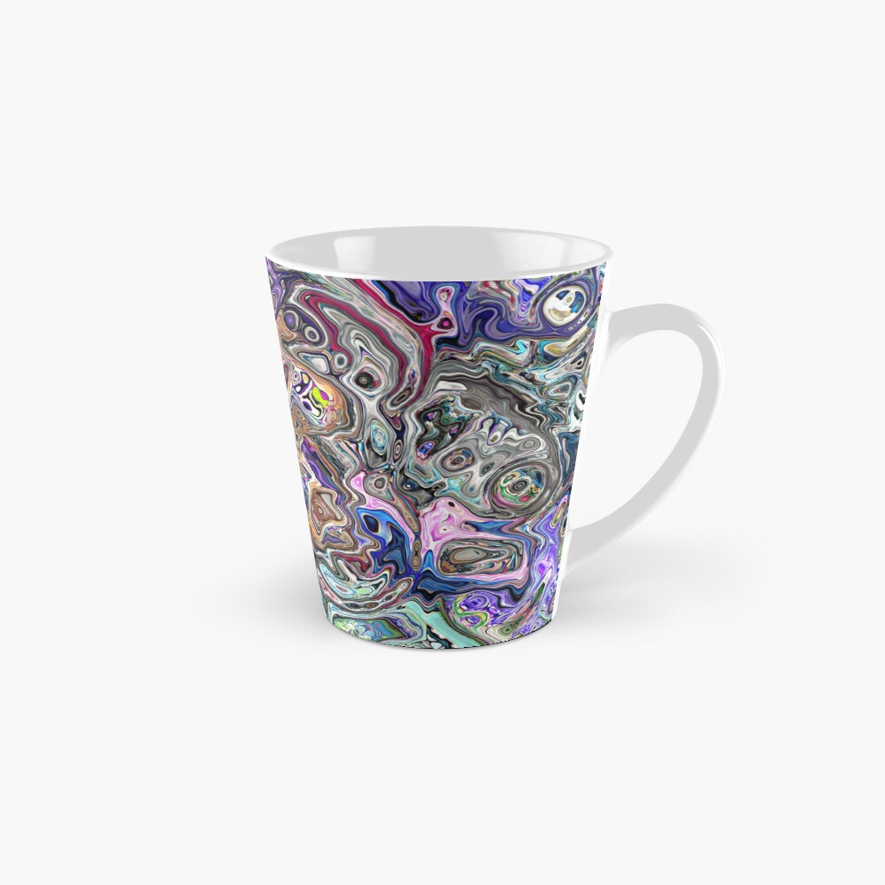 Abstract Melted Colors Mug