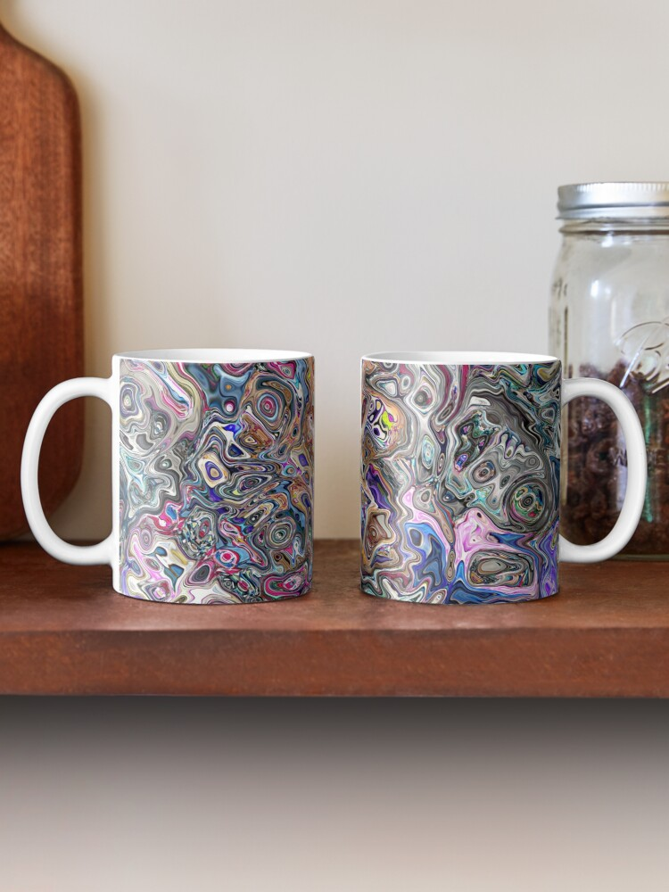 Alternate view of Abstract Melted Colors Mug