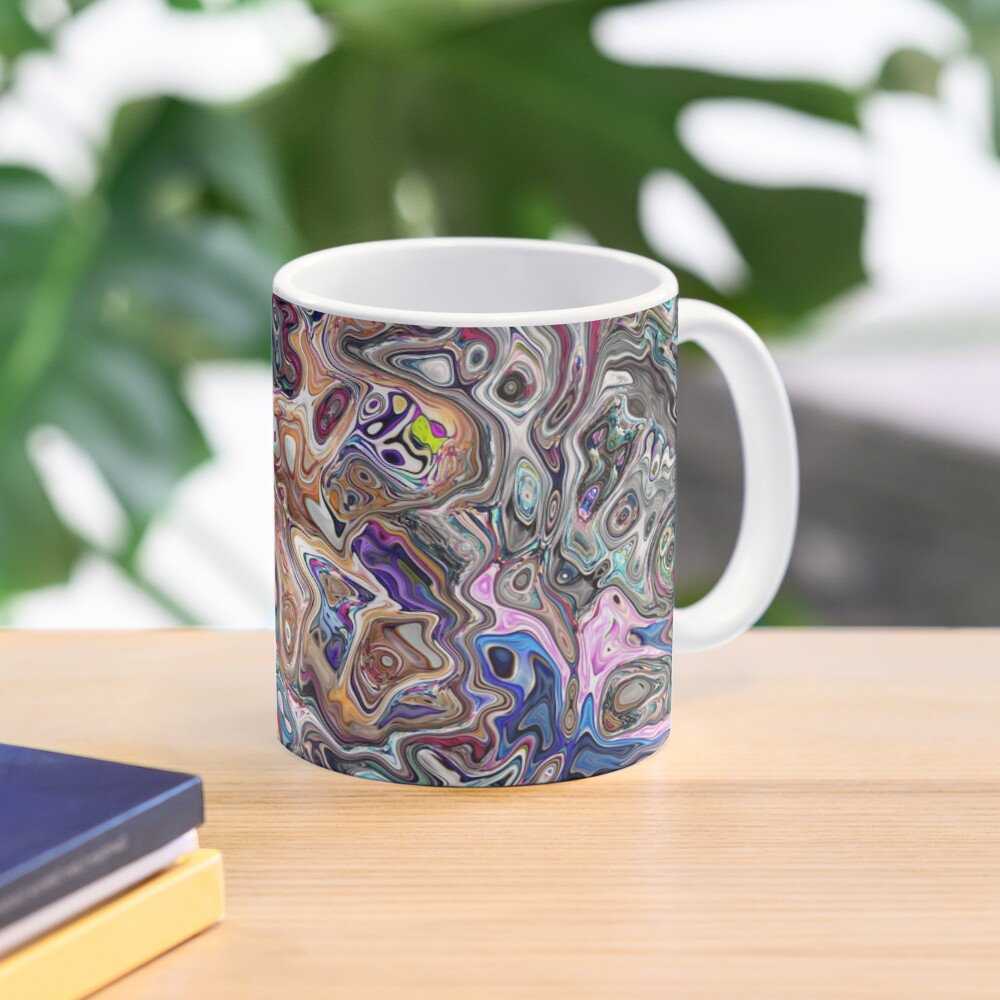 Abstract Melted Colors Mug