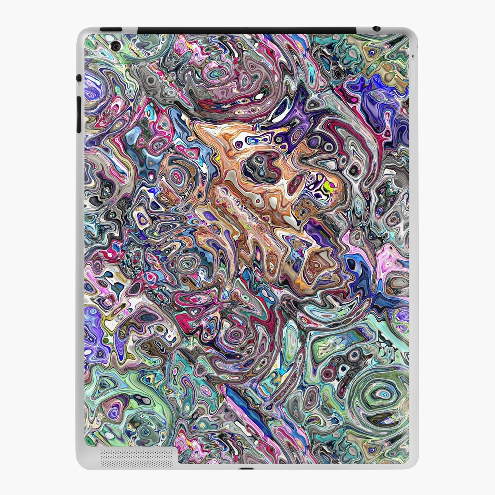 Abstract Melted Colors iPad Case & Skin