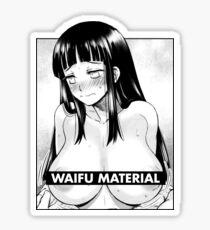 Naruto - Hinata Waifu Material Sticker
