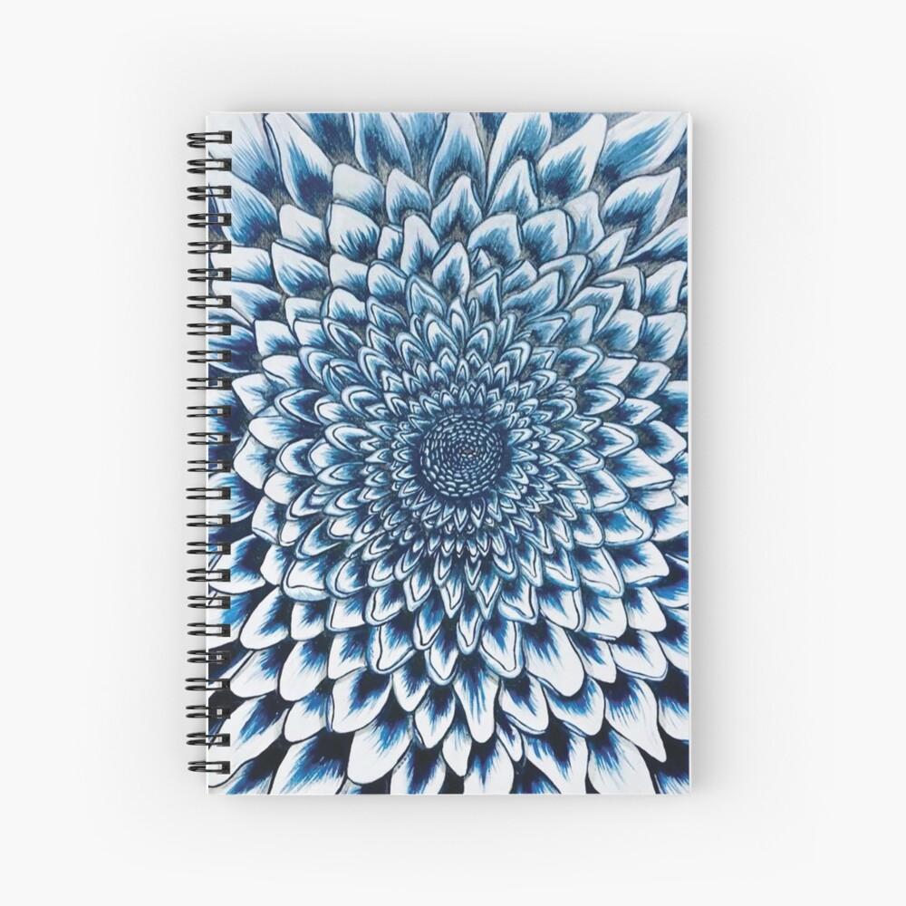 Blue Danube Mum Spiral Notebook