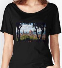 Firenze  Women's Relaxed Fit T-Shirt