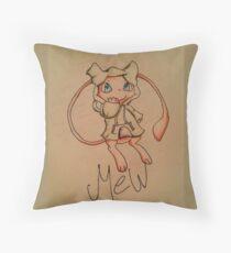 Pokémon Mew with Sweatshirt Throw Pillow