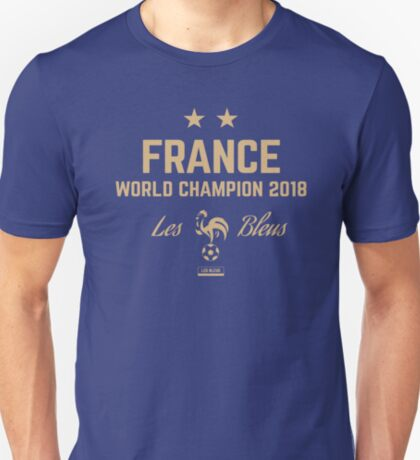 France World Cup 2018 Shirts - France World Cup Champions Shirts - World Cup Champion 2018 Products - Les Bleus T-Shirt