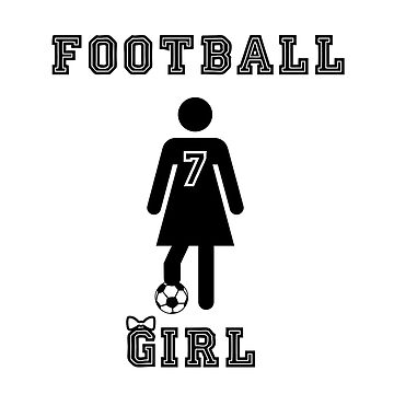 Football Girl by Dylster
