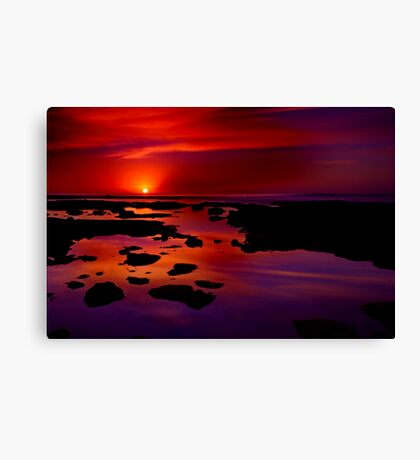 """Morning Grandeur"" Canvas Print"