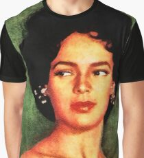 e34cdaef530e Dorothy Dandridge, Hollywood Legend Graphic T-Shirt