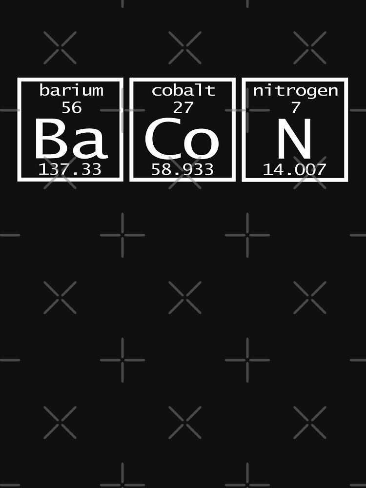 BaCoN Periodic Table of Elements by Sparty1855
