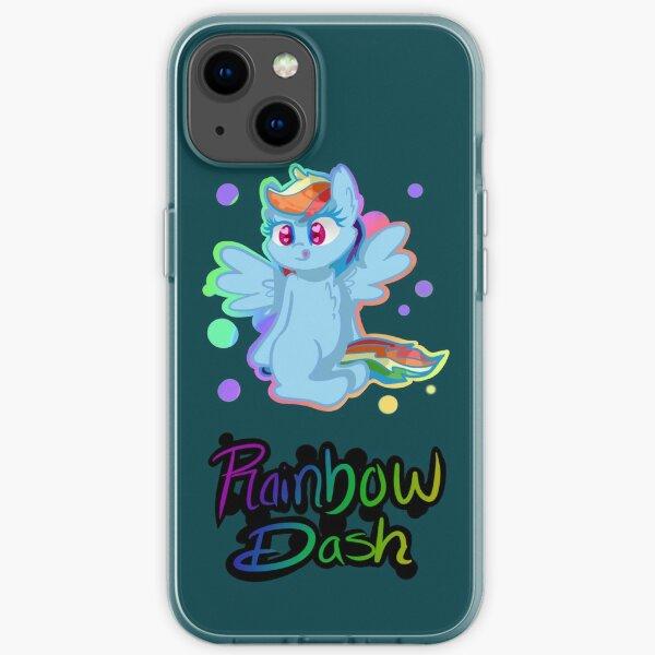 Rainbow Dash iPhone Cases iPhone Soft Case