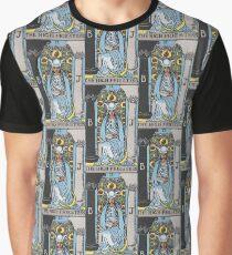3 - The High Priestess (Version II)  Graphic T-Shirt