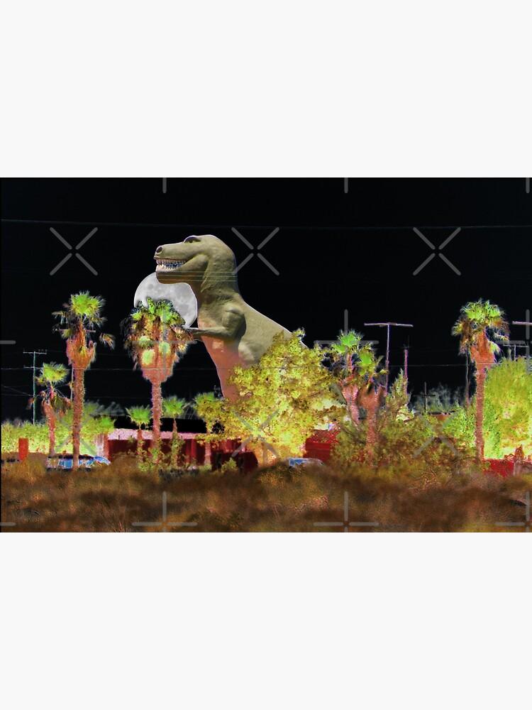 T-Rex In The Desert Night by ButterflysAttic