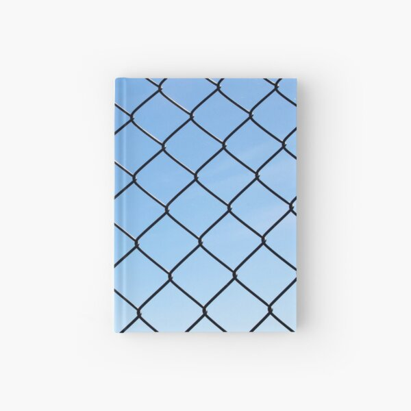 Wire Fence Diamonds Hardcover Journal