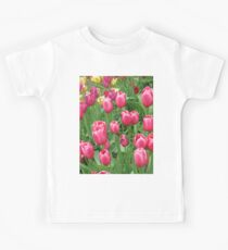 Early Spring Colorful Tulips photograph  Kids Clothes