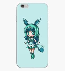Glaceon Magical Girl Chibi iPhone Case