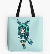 Glaceon Magical Girl Chibi Tote Bag